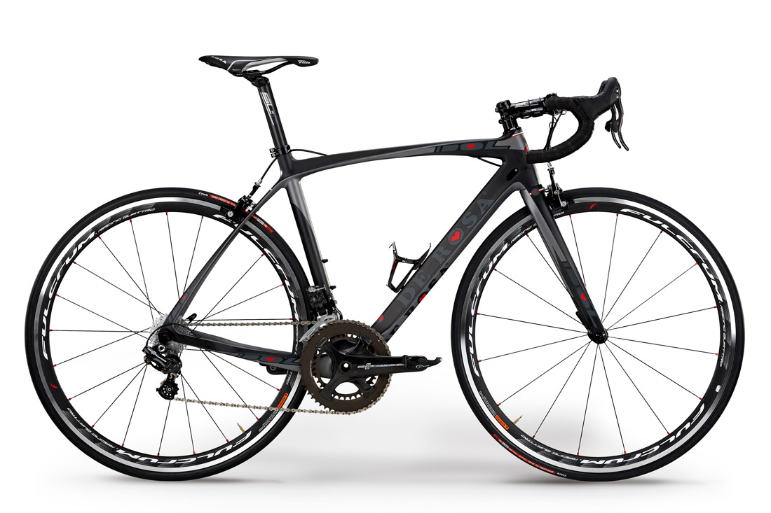 New Idol Grey Kampagnemodel Ultegra 6870 Di2
