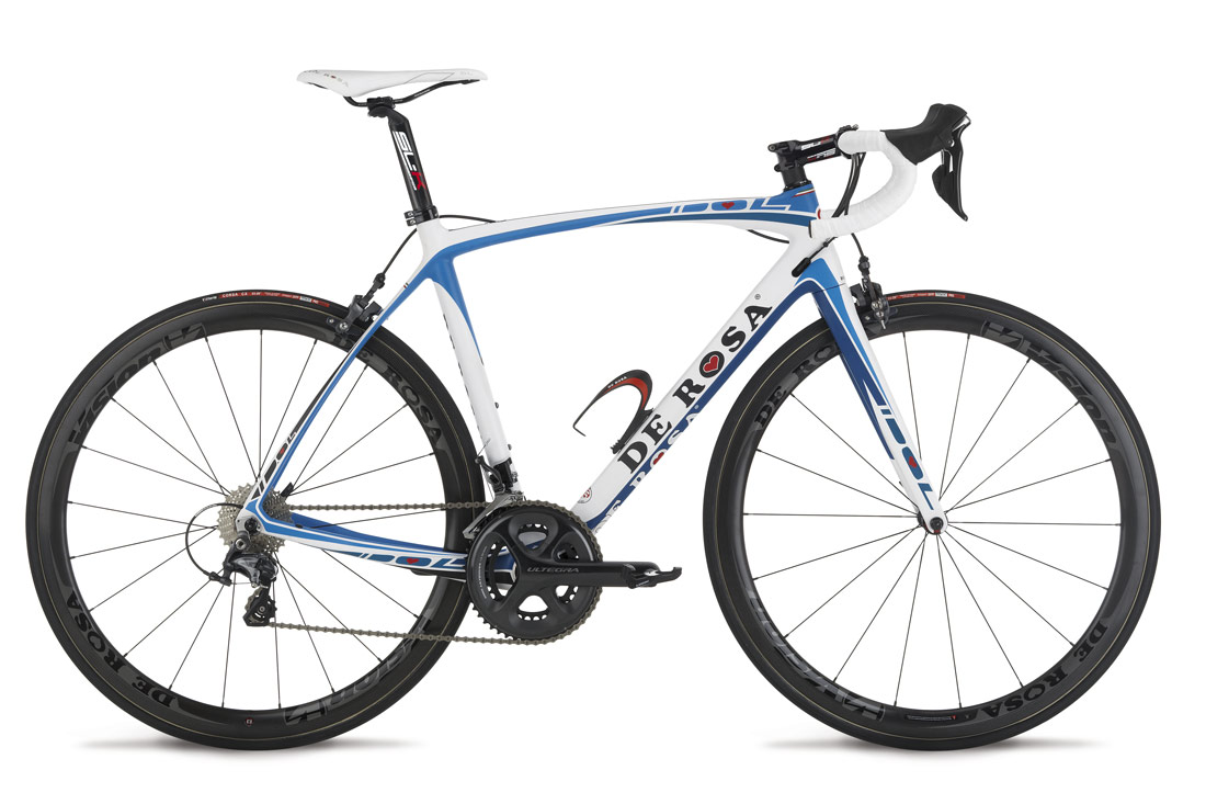 New Idol White Blue Sky Kampagnemodel Ultegra 6870 Di2